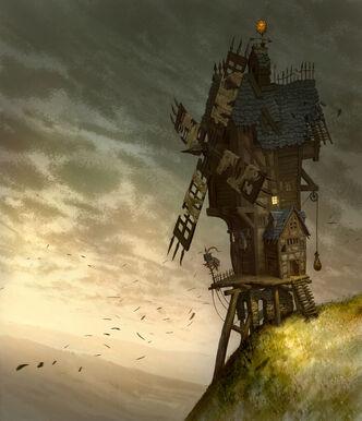 Molino de viento Imperio por Jonathan Kirtz Warhammer Online.jpg