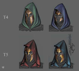 Warhammer age of reckoning conceptart Guerrero Sombrio Capuchas 01 Altos Elfos