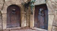 Doors in the Hedge Maze