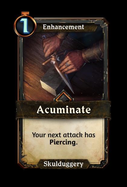 Acuminate
