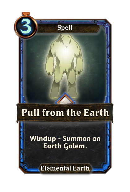 Pull from the Earth