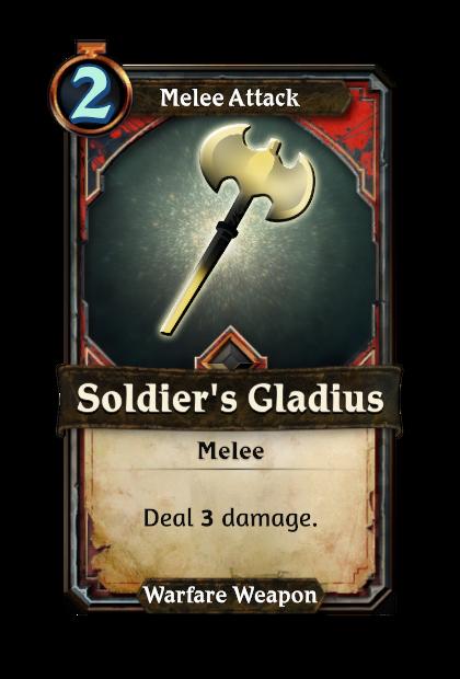Soldier's Gladius