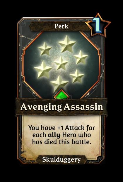 Avenging Assassin