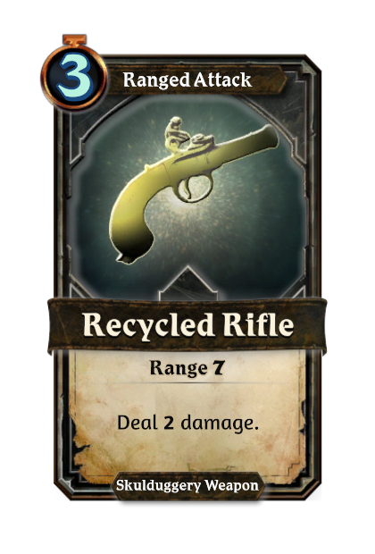 Recycled Rifle
