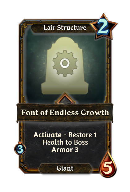 Font of Endless Growth