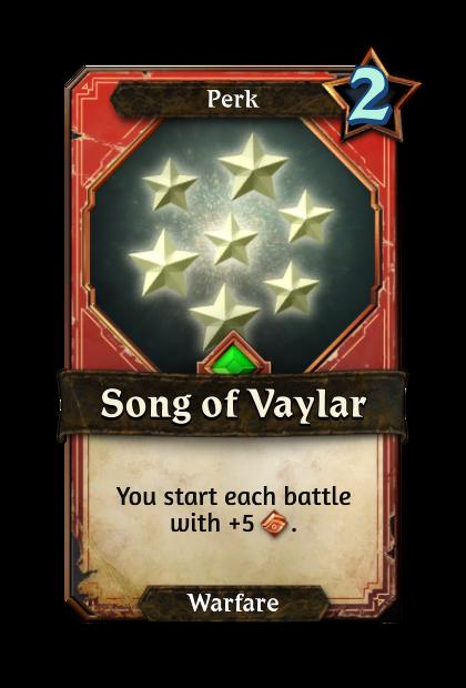 Song of Vaylar
