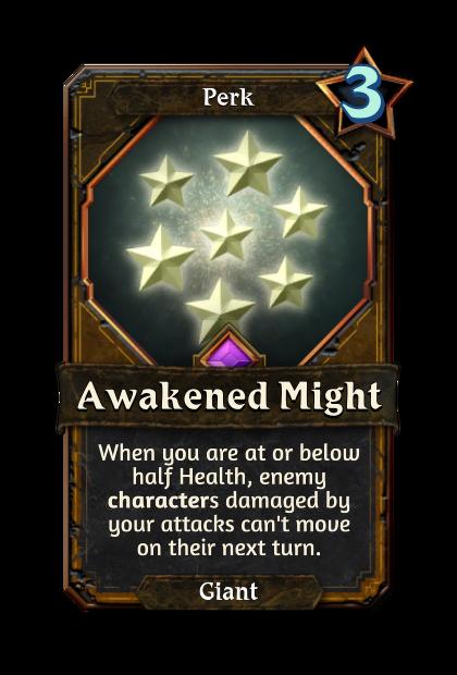 Awakened Might