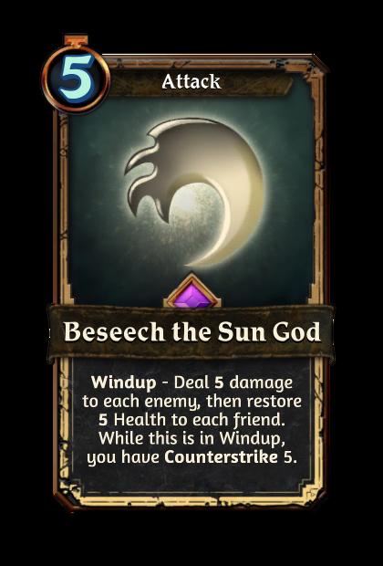 Beseech the Sun God