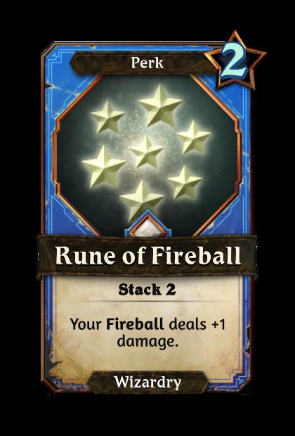 Rune of Fireball
