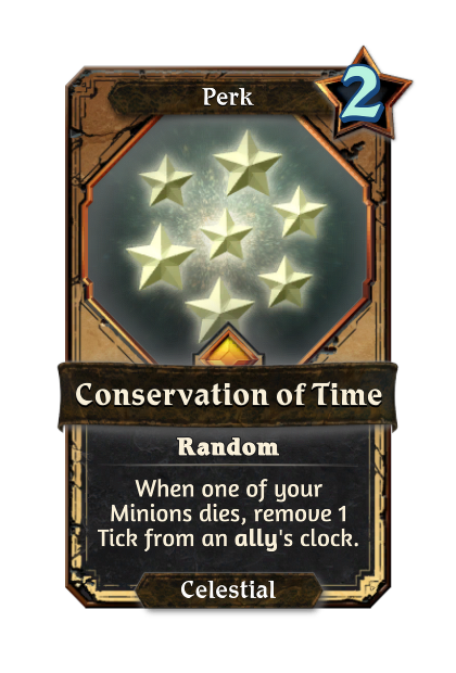 Conservation of Time