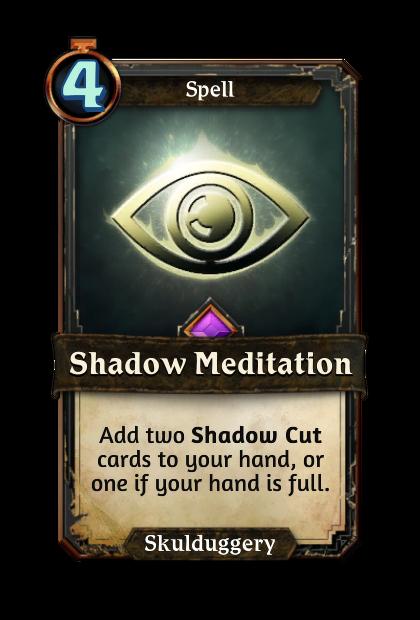 Shadow Meditation