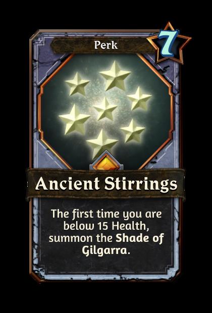 Ancient Stirrings