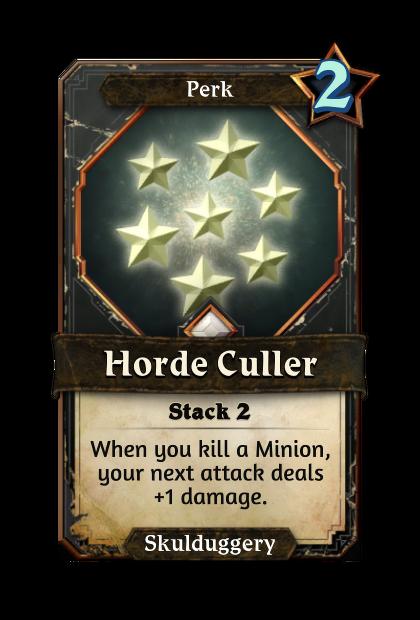 Horde Culler
