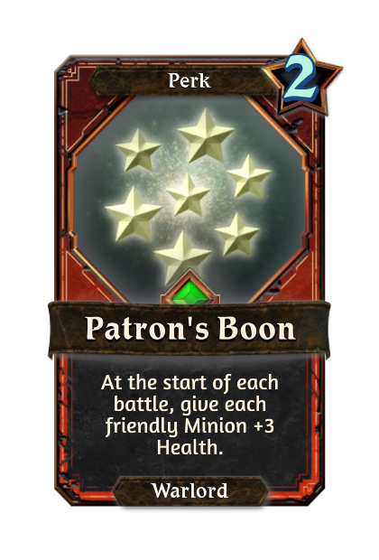 Patron's Boon