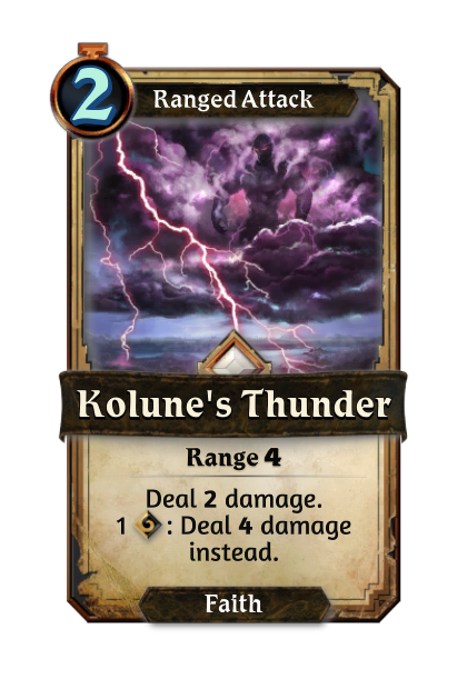 Kolune's Thunder