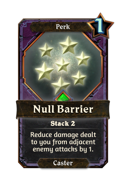 Null Barrier