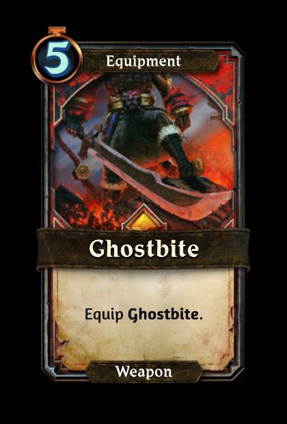 Ghostbite