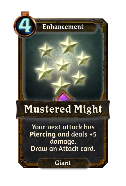 Mustered Might