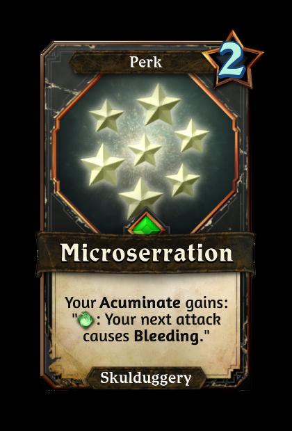 Microserration