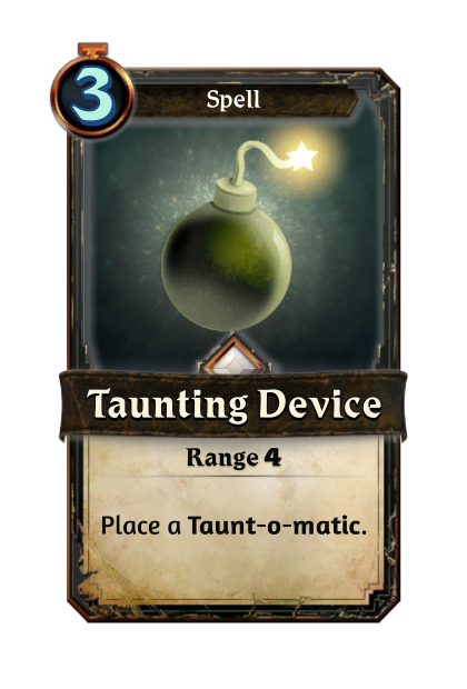 Taunting Device