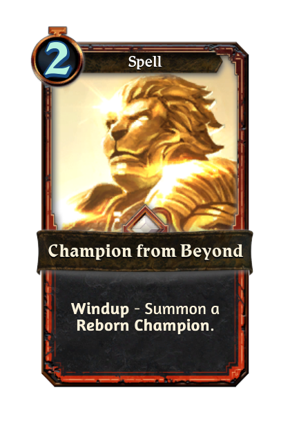 Champion from Beyond