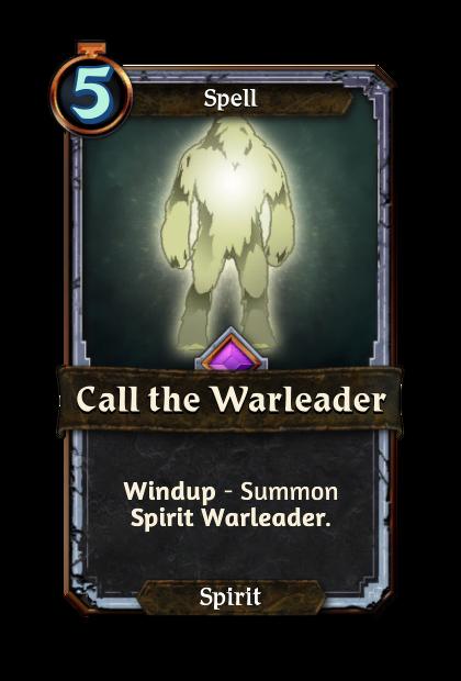 Call the Warleader