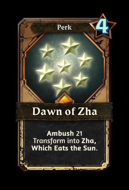Dawn of Zha
