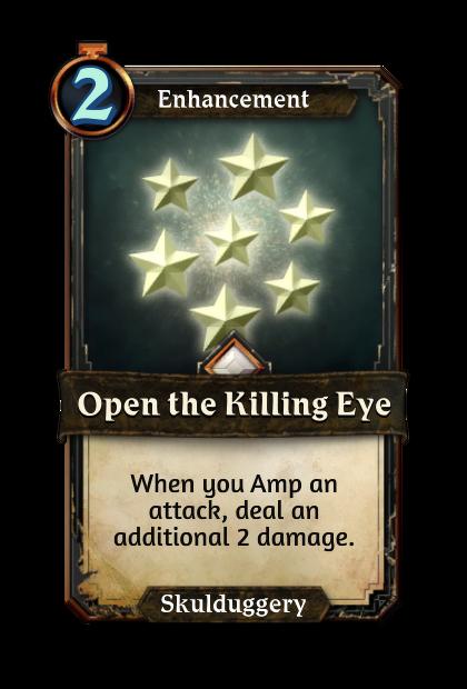 Open the Killing Eye