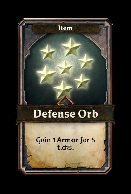 Defense Orb