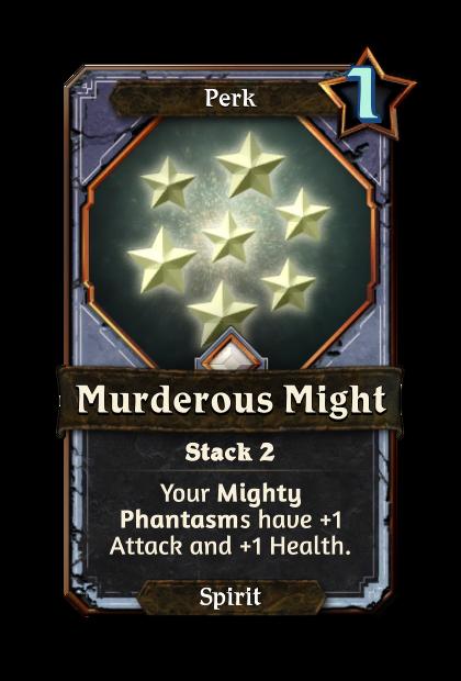 Murderous Might