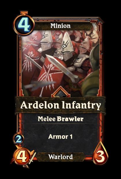Ardelon Infantry