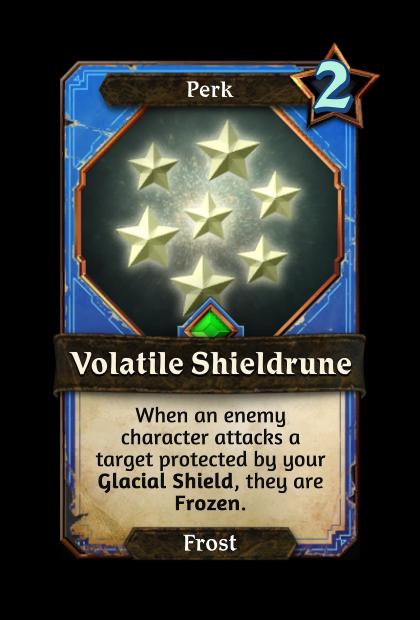 Volatile Shieldrune