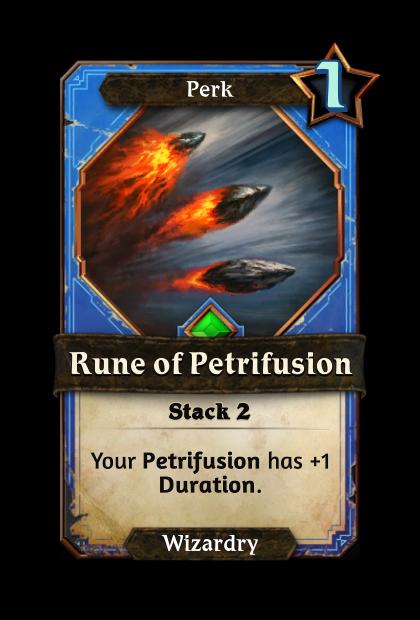 Rune of Petrifusion