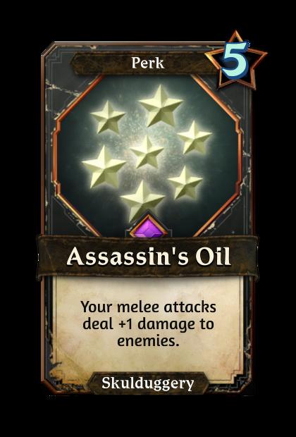 Assassin's Oil