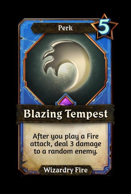 Blazing Tempest