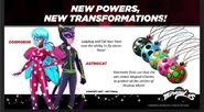 New Powers & New Transformatons - Season 4 Concpet Art