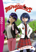 Miraculous French chapter book - A Shocking Duo cover
