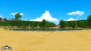 Jardin des Tuileries background concept art 2
