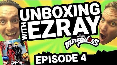 Miraculous Ladybug EZRAY Toy Unboxing Ep