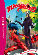 Miraculous French chapter book - Army of Hawk Moth cover