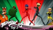 MIRACULOUS 🐞 ACTION 🔝 SEASON 2 Tales of Ladybug and Cat Noir