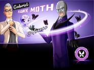 2D Gabriel AKA Hawk Moth & Nooroo