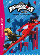 Miraculous French chapter book - Miraculous New York cover