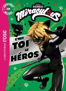 Miraculous French chapter book - You Are the Hero (Cat Noir edition) cover