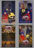Les aventures de Ladybug & Chat Noir Poster sketches