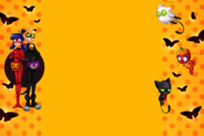 ZAG Store Halloween BG with Art by Angie Nasca and Feri Gonzales