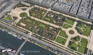 Jardin des Tuileries background concept art 5