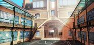Collège Françoise Dupont Courtyard background