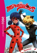 Miraculous French chapter book - Amnesia cover