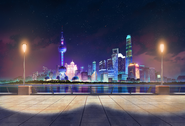 Miraculous Shanghai Puddong Night Concept Art